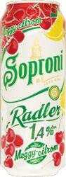 Soproni Radler Meggy-Citrom 1,4% dob. 0.5