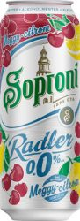 Soproni Radler Meggy-Citrom alk.mentes dob. 0.5 (0%)