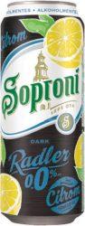 Soproni Radler Dark Citrom alk.mentes dob. 0.5 (0%)