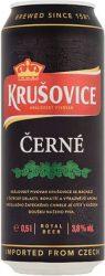 Krusovice Cerné Dark sör dob. 0.5