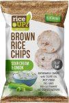 Rice Up Hagymás-Tejfölös rizs chips 60g        24/#