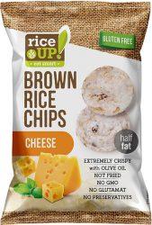 Rice Up Sajtos rizs chips 60g        24/#