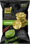 Rice Up Wasabi ízű rizs chips 60g        24/#