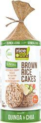 Rice Up Szelet Chia magos&quinoás  b.rizs szelet  120g    12/#