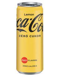 Coca-Cola Zero Lemon 0.33l dob.     24/#