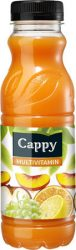 Cappy Multivitamin 50%  0.33l PET  12/#