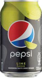 Pepsi Black Lime 0,33l dobozos    24/#