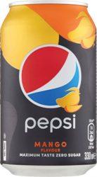 Pepsi Mango 0,33l dobozos    24/#
