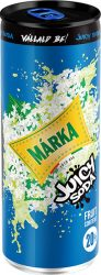 Márka Juicy Soda Bodza   0,25 dob.       24/#