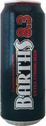 Barths Extra Strong 8,3% dob. 0,5
