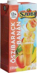 Szobi Banán-Őszibarack 12% 1.0  12/#