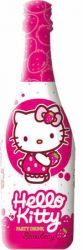 Hello Kitty szénsavas  Eper ital 0.75 6/#